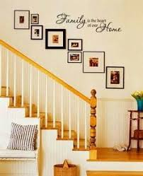 like this decal just the way this is laud out family is the heart of our home vinyl decal wall art home decor love this site full of wonderful home decals on stairway wall art with a colorful home in utah pinterest utah stairways and cups