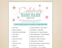 Remarkable Famous Moms Baby Shower Game 64 About Remodel Baby Famous Mothers Baby Shower Game