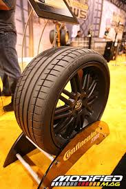 Alloy Wheel Display Stand tire display Sema Show 100 Continental Tire Display Photo 100 81