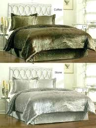 grey crushed velvet bedding velvet comforter set king velour comforter set velvet quilt king velvet bedding