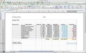 Budget Layout Example 5 Useful Microsoft Excel Templates For Indie Film Tv Production