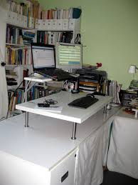 Ikea Standing Desk Galant Medium Size Of Interesting With Decorating Ideas
