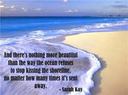Beautiful Ocean Quotes Best of There's Nothing More Beautiful Quote Picture