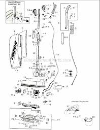 oreck u2000rb 1 parts list and diagram ereplacementparts com