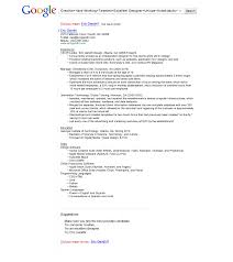 Google Resume New Picture Google Resume Pdf Importance Of A Resume