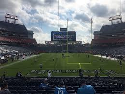 Nissan Stadium Section 101 Tennessee Titans