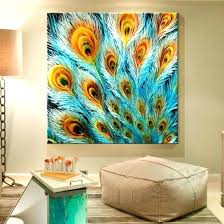 wall art paintings 7 peacock wall art painting image intended for wall art painting ideas wall wall art paintings