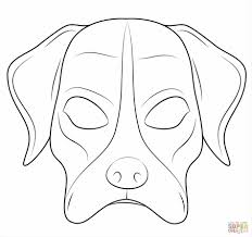 Small Picture Mouse Mask Template Halloween Masks Dog Mask Coloring Page Free