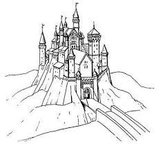 Coloriage Chateau Princesse Playmobil