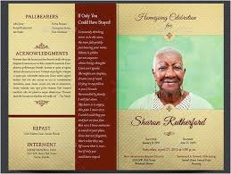 Free Funeral Program Templates Download Enchanting 48 Fresh Free Memorial Program Template Images Yalenusblog