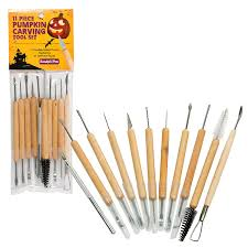 pumpkin carving tools for kids. amazon.com: pumpkin carving tools- halloween sculpting kit with 11 double sided pieces (21 tool set) for jack-o-lanterns and more: kitchen \u0026 dining tools kids