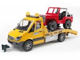 <b>Игрушка Bruder</b> Mercedes-Benz Sprinter эвакуатор с ...