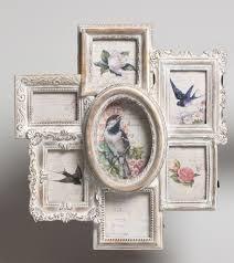 large shabby chic multi photo frame picture frame ideas rh formalbibs com shabby chic ceramic frame