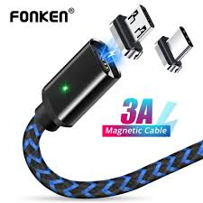 FONKEN <b>Magnetic</b> USB <b>Cable Micro</b> USB Type C Phone <b>Magnet</b> ...