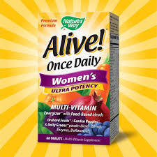alive once daily women s multi vitamin