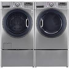 lg tromm dryer. LG 4.5 Cu.ft. Front Load Washer \u0026 7.4 Cu. Ft. Electric Lg Tromm Dryer Y