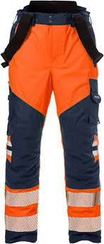 New Fristads High Vis Airtech Shell Trousers 2515