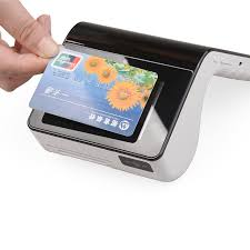 Card Scanner Wireless 4g Wifi Handheld Touch Screen Smart Card Reader Pos