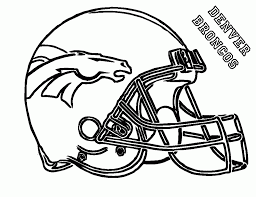 Broncos Coloring Pages #20006
