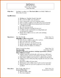 Sample Curriculum Vitae For Teacher Job 2018 Post Resume Sample Of A