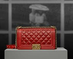 Chanel Pre-spring 2013 Bag Collection | Spotted Fashion & Chanel Red Quilted Boy Bag - Pre Spring 2013 Adamdwight.com
