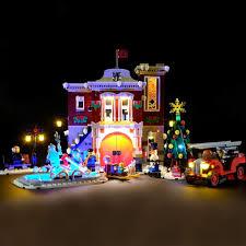 Lego Winter Village Lights Amazon Com Vonado Led Light For Lego 10263 Creator Winter