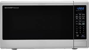 sharp carousel countertop microwave oven stainless steel smc1843cm appliance smart