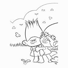 Poppy Coloring Page Elegant Trolls Poppy Coloring Page Guy Diamond