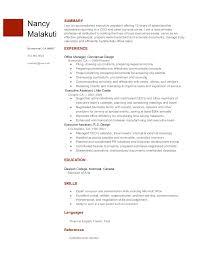 Ideas Of Google Document Resume Template Stunning Google Doc Resume