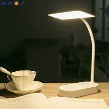 Usb Đèn Led Sạc Để Bàn Học Đọc Sách Ban Đêm Để Bàn Hiện Đại 5V Cảm Ứng Sạc  Đèn Bàn Abajur de Mesa|Đèn Bàn