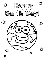 Small Picture Happy Earth Day to All Coloring Page Download Print Online