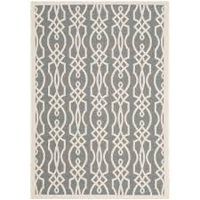 safavieh martha stewart cement 3 ft x 5 ft indoor outdoor area rug