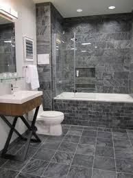 stone floor tiles bathroom. 40 Grey Slate Bathroom Floor Tiles Ideas And Pictures Stone M