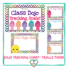 Teacher Resource Trolls Class Dojo Tracking Charts The