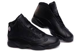 air jordan shoes for girls black. air jordan retro 13 embroidery - all black,jordans for girls,air golf shoes girls black h