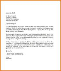 Images Of Business Letters New 35 Formal Business Letter Format ...
