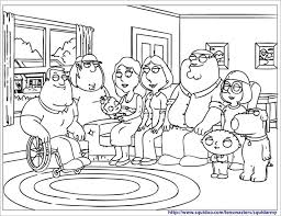 Small Picture Family Guy Coloring Pages Family Guy Colouring Pages With Family