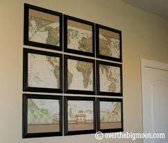 wall arts maps for wall art cool idea to cut map and frame sections i on diy map panel wall art with wall arts maps for wall art world map wall art stickers map wall