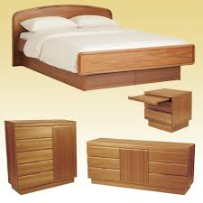 Scandinavian Teak Bedroom Furniture 82 Series Bedroom By Sun Teak Bed Room Set With Platform Bed