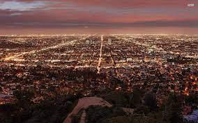 1280x800 Los Angeles By Night desktop ...