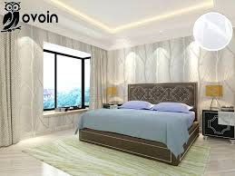 Bedroom Wall Coverings Grey Beige Minimalist Nature Birch Tree Forest Woods  Wallpaper Modern Design Paper Master Covering Ideas