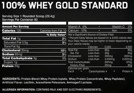 on gold standard 100 5lb optimum nutrition