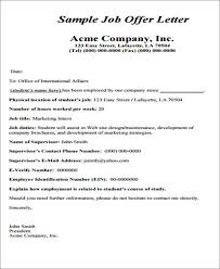 how to write a job offer letter simple offer letter template 14 free word pdf format download