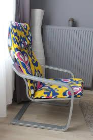 fl cover ikea poang chair diy