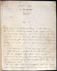 exoticism in 19th century literature the british library fair copy manuscript of charlotte brontë s jane eyre folio 1r