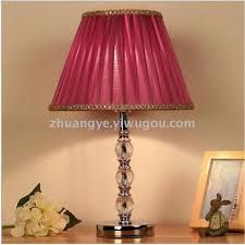 small desk lamp modern contracted crystal lamp bedroom sitting room study bedside table lamp