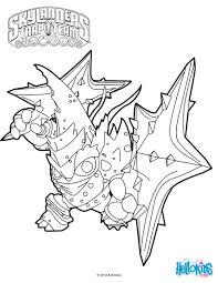 Small Picture Lob Star coloring page from Skylanders Trap Team video game More
