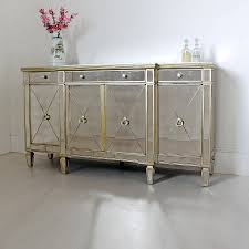 ... Long Antique Sideboard With Mirror Mirrored Sideboard Uk ...