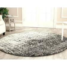 safavieh porcello contemporary fl ivory grey rug retro black and light 8 round home redecorate