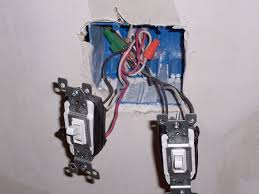 how to connect electrical wires to fixture terminals light switches in the process of being wired